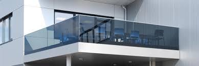 Nurglasgeländer - Railingprofile | Julius Fritsche Gmbh - Glas