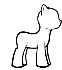 My Little Pony Pictures To Color My Little Pony Girls Coloring Pages