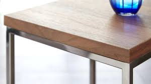wood chrome coffee table walnut side table black chrome and wood wood and chrome pierceson wood chrome coffee table