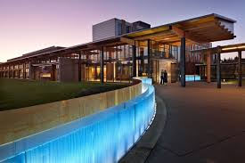 Green Coeur d'Alene Tribe Resort Expansion Design by Mithun Minimalist  Architecture Designs