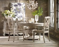 Oval Table Dining Room Sets Chatelet Round Oval Pedestal Dining Room Set By Hooker Furniture