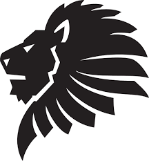 lion face black and white clipart. Fine Clipart Jpg Free Head Silhouette Clip Art At Getdrawings Com Throughout Lion Face Black And White Clipart M