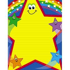 Wipe Off Star Kids Chart