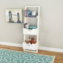 land of nod furniture. Kids White Leaning Wall Bookcase - The Land Of Nod Furniture