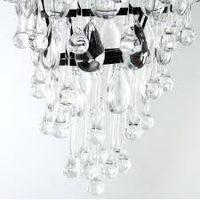 savona glass droplet chandelier luxe for glass droplet chandelier 9 of 12