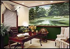 golf office decor. Use This Amazing Golf Mural In A Bedroom, Study, Basement, Bar Or Game Office Decor M