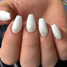 Nail Art Designs On White Nails 15 Nail Designs That Prove Winter White Isnt As Boring As