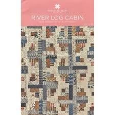 River Log Cabin Quilt Pattern by MSQC - MSQC - MSQC. This would ... & River Log Cabin Quilt Pattern by MSQC - MSQC - MSQC. This would look great Adamdwight.com