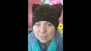 Cat Hat Crochet Pattern Custom How To Crochet A Black Cat Hat YouTube