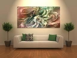 modern canvas wall art abstract flower art canvas print flower in home modern canvas painting