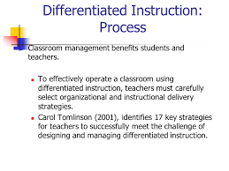 Effective Instruction Differentiated Instruction Ppt