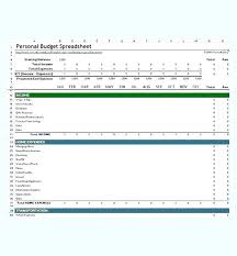 example of personal budget budgeting spreadsheet template excel personal budget spreadsheet
