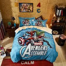 marvel avengers queen size bedding set