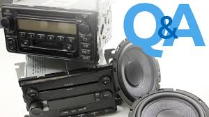 Pairing Speaker Wattage To A Factory Amplified Stereo System Car Audio Q A