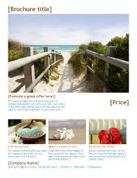 How To Make Travel Brochure Travel Brochure