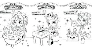 Shopkins Shoppies Coloring Pages Coloring Happy Place Coloring Pages
