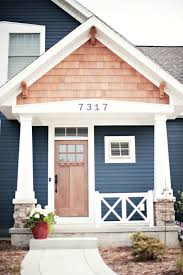wood colored paint10 Bold Colors to Paint Your Homes Exterior