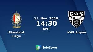 Standard Liège KAS Eupen Live Ticker und Live Stream - SofaScore