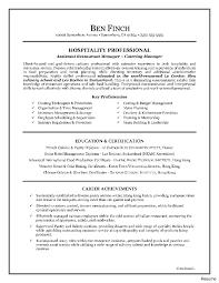Hotel Front Desk Resume Sample Cover Letter Examples For Agent