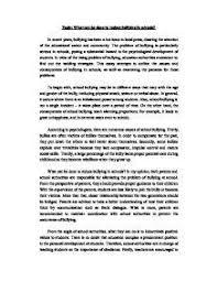 argumentative essay on bullying short argumentative essay on bullying