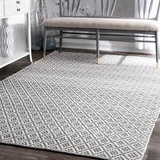 home interior modest cotton area rugs 8x10 com safavieh boston collection bos685e handmade grey
