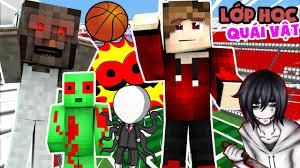 Minecraft Lớp Học Quái Vật #2 - BUỔI HỌC THỂ DỤC MA QUÁI - YouTube