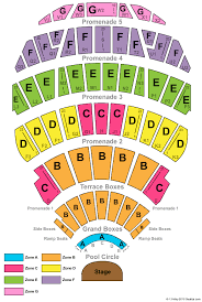 Colorado Avalanche Seating Chart With Seat Numbers Hollywood Bowl Seating Chart