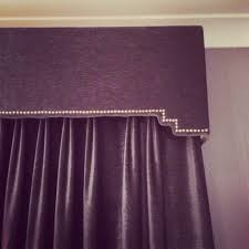 Lilac Bedroom Curtains Grey Velvet Studded Handmade Pelmet Curtains Curtain Pelmet