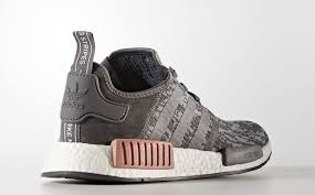 adidas shoes nmd grey and pink. set to drop at the top of next month, here are official images adidas nmd r1 heather grey. said be a women\u0027s exclusive colorway, this colorway shoes nmd grey and pink o