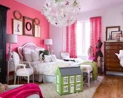 Shabby-chic style girl medium tone wood floor kids' bedroom idea in Toronto  with