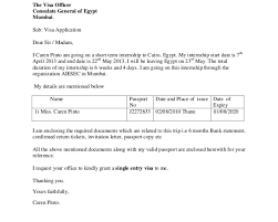 Cover Letter For Employment Visa Application Germany Cover