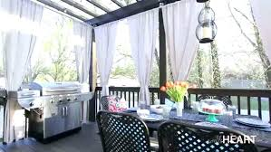 outdoor patio with curtains lovely for ideas ds furniture set good ikea