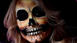 sugar skull makeup tutorial best full and half face beauty tips and how candy skull makeup is to the day of the dead news need news