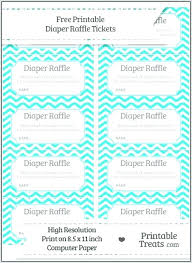 White Raffle Diaper Tickets Template And Recrea co Ticket Black Free – Search Printable Boy