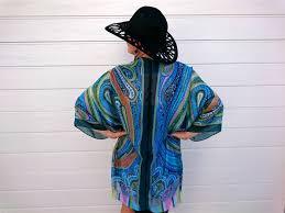 plus size silk robe plus size teal silk kimono cover up bubbles bay madeit com au