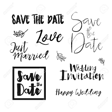 Lettering Templates Save The Date Wedding Invitation Labels Save The Date Lettering