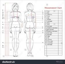 Measurement Chart Body 23 Best Body Measurement Chart Images In 2019 Body