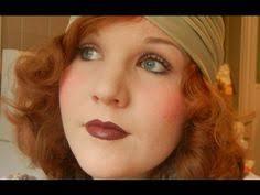 violet deep purple 1930s make up tutorial 1930s makeup 1930s hair kiss makeup
