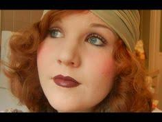 1930s make up tutorial a soft pretty look but not to be worn if