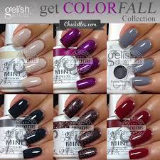 Gelish Get Color Fall Collection 2014 Fall Gelish Colors
