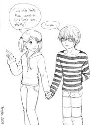 anime love holding hands. Simple Holding Holding Hands By Threshie  And Anime Love