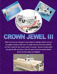Creative Sewing Machine Center Blog & Crown Jewel Must Go! Adamdwight.com