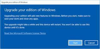 to upgrade from windows 10 home to pro