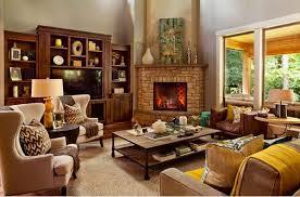 living room decor with corner fireplace. Luxurious Living Room With Corner Fireplace Also Shelve Plus Sofa Set Decor G