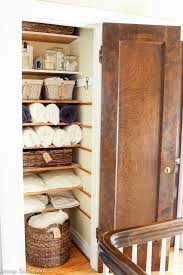 this organized linen closet makeover is something to see a once messy and dysfunctional linen
