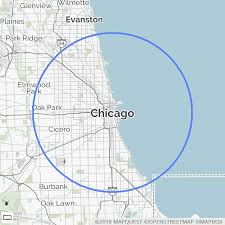 Image result for chicago map circle