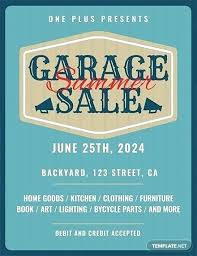 Garage Sale Sign Template For Word Pics Seminar In Top