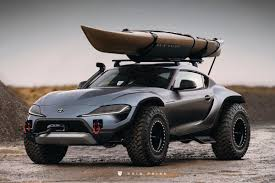 Check Out This Wild 2020 Toyota Supra Dune Buggy 4x4 Maxim