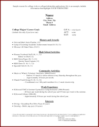 Scholarship Resume Template Scholarship Resume Templates Sample