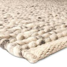 nuloom chunky braided rug ivory knit wool project s chunky knit braided rug